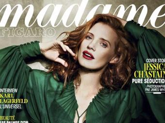 Jessica Chastain – Madame Figaro 05/13