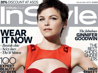 Ginnifer Goodwin – InStyle 11/10