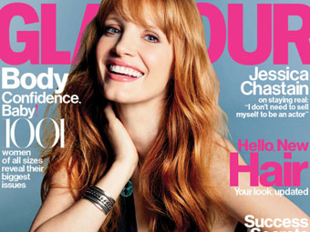 Jessica Chastain – Glamour 10-14