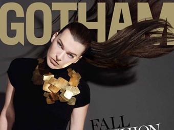 Milla Jovovich – Gotham 09/10