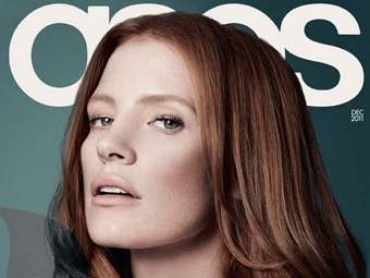 Jessica Chastain – Asos 12/11